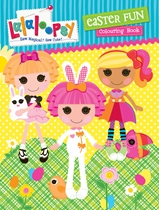 Lalaloopsy Easter Fun Colouring Book