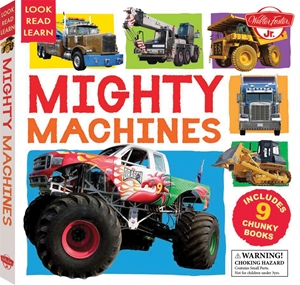 Mighty Machines Includes 9 Chunky Books