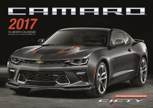Camaro 2017 16-Month Calendar September 2016 through December 2017
