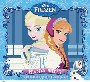 Disney: Frozen Paint by Number Kit