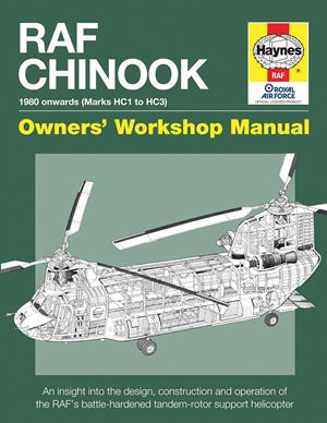 RAF Chinook Owners' Workshop Manual - 1980 onwards (Marks HC1 to HC3)