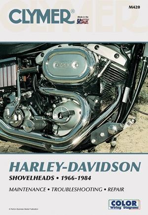 Clymer Harley-Davidson Shovelheads 66-84: Service, Repair, Maintenance