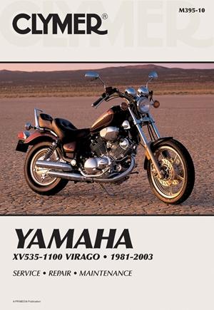 Clymer Yamaha XV535-1100 Virago 1981-2003: Service, Repair, Maintenance