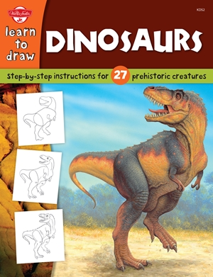 Dinosaurs Step-by-step instructions for 27 prehistoric creatures