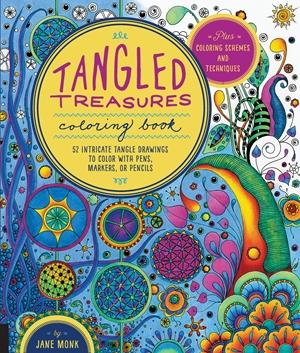 Tangled Treasures Coloring Book