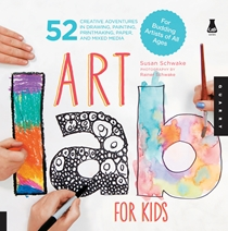 Cover of Art Lab for Kids 9781592537655