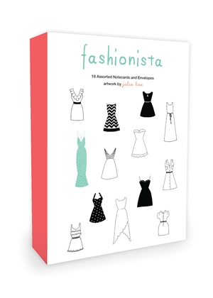 Fashionista Note Cards
