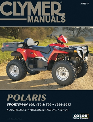 Polaris Sportsman 400, 450 & 500 1996-2013 Manual