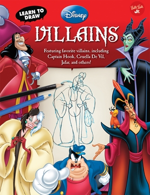 Learn to Draw Disney's Villains