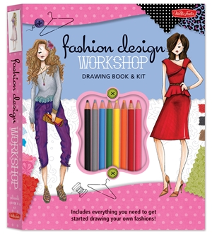 Fashion Design Workshop Drawing Book & Kit