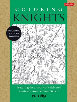 Coloring Knights Featuring the artwork of celebrated illustrator Anne Yvonne Gilbert