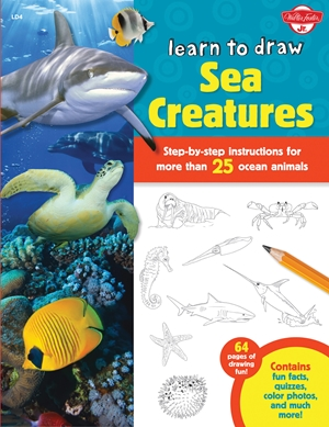 Learn to Draw Sea Creatures