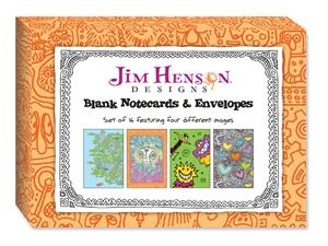 Jim Henson Designs: Blank Notecards & Envelopes
