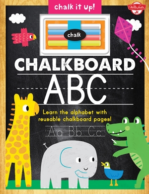 Chalkboard ABC Learn the alphabet with reusable chalkboard pages!