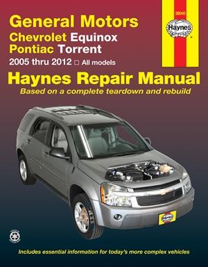 General Motors Chevrolet Equinox and Pontiac Torrent
