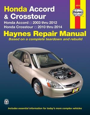 Honda Accord & Crosstour