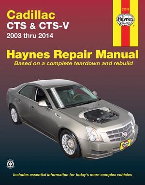 Cadillac CTS & CTS-V 2003 thru 2014