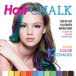 Hair Chalk Step-by-Step illustrated instructions + 12 Easy to Follow Hairstyles