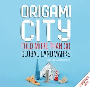 Origami City Fold More Than 30 Global Landmarks - Origami Paper Inside