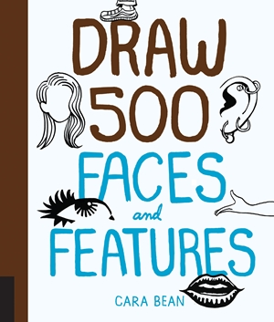 Draw 500 Faces and Features