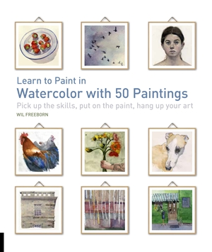 Learn to Paint in Watercolor with 50 Paintings