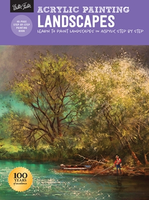 Landscapes Learn to paint landscapes in acrylic step by step