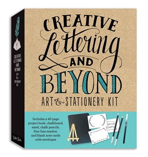 Creative Lettering & Beyond Art and Stationery Kit