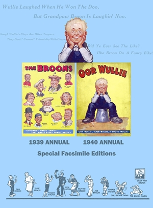 Broons/Oor Wullie Facsimile Edition of the First ever Broon and Oor Wullie Annuals