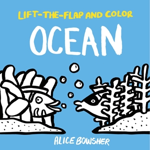 Lift-the-flap and Color Ocean