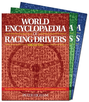 World Encyclopaedia of Racing Drivers - 3 Volume Set