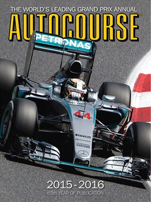 Autocourse 2015-2016 The World's Leading Grand Prix Annual - 65th Year of Publication