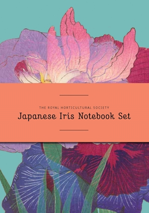RHS Japanese Iris Notebook Set