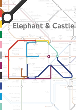 Animals on the Underground Set of 3 A5 Notebooks
