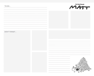 Matt Desk Jotter