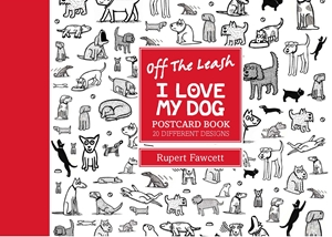 Off the Leash I Love My Dog Postcard Book