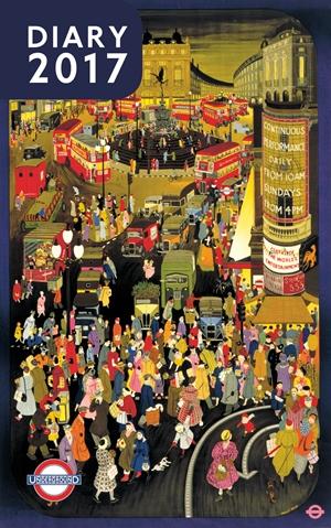London Underground Poster Diary 2017