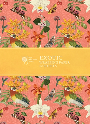 RHS Exotic Wrapping Paper