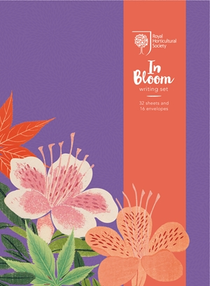 RHS In Bloom Writing Set
