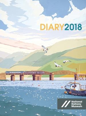National Railway Museum Desk Diary 2018