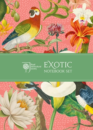 Royal Horticultural Society Exotic Notebook Set