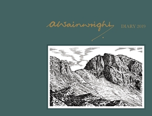 A. Wainwright Desk Diary 2019