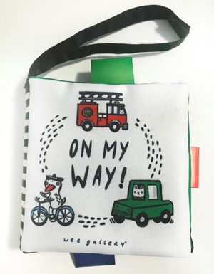 Wee Gallery Stroller Books: On My Way