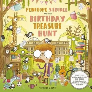Penelope Strudel And the Birthday Treasure Trail