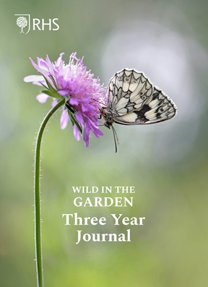 Royal Horticultural Society Wild in the Garden Three Year Journal