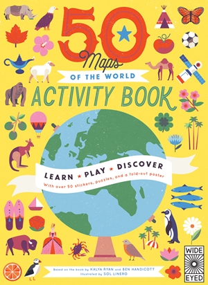 50 Maps of the World Activity Book