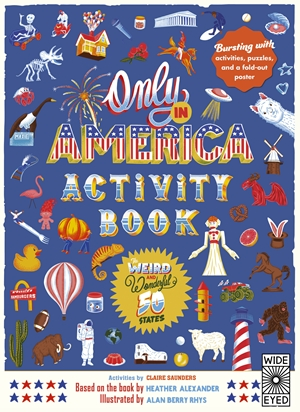 Only in America Activity Book