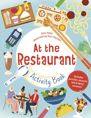 At the Restaurant Activity Book
