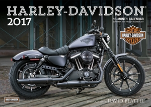 Harley-Davidson(R) 2017 16-Month Calendar September 2016 through December 2017