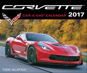 Corvette A Day Calendar 2017