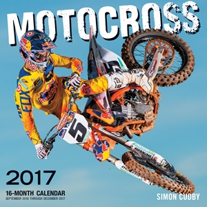 Motocross 2017 16-Month Calendar September 2016 through December 2017